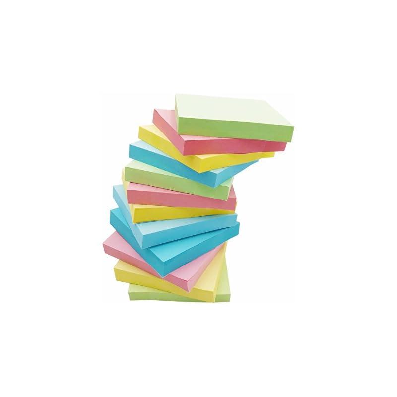 Amnadof 12 Pack Sticky Notes 3'' X 3'' 1