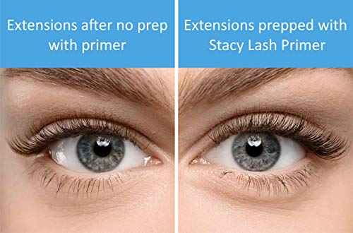 Eyelash Extension Primer / Cleanser (1.35fl.oz/40ml) Stacy Lash / Protein Oil Remover / Increase Adhesive Bonding Power…