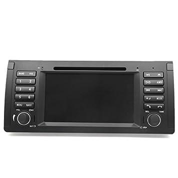 DealMux pantalla táctil LCD WINCE radio de coche estéreo Multimedia DVD de navegación GPS para BMW E39 E53: Amazon.es: Electrónica