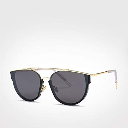 QZHE Gafas de sol Espejo De Aviación Gafas De Sol Hombre ...