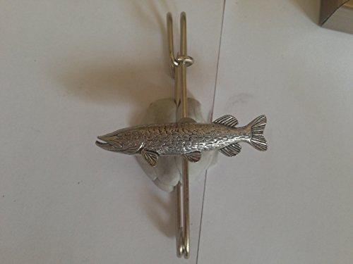 Kilt F40Pike écharpe ou Broche en étain emblème 6,3cm fait à la main à Sheffield