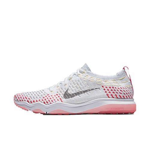 Women's Running Flyknit Shoes Racer Wolf Air Pink Zoom Melon NIKE Fearless White Grey Tint fxngSqqwF
