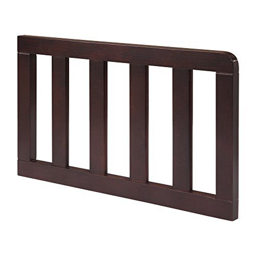 Top delta toddler bed rail chocolate