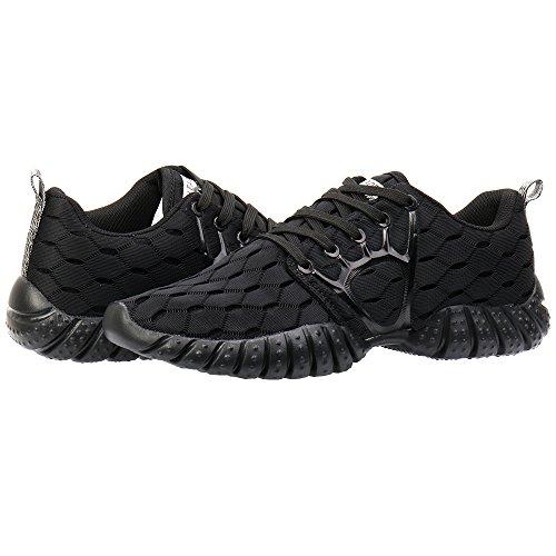ALEADER Women's Lightweight Mesh Sport Running Shoes Carbon Black 10 D(M) US by ALEADER (Image #7)