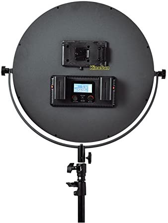 Charger Bag Battery KINOSUN Best-Soft LED Light on-camera C200 Bi-color High CRI95 16W 7 Round