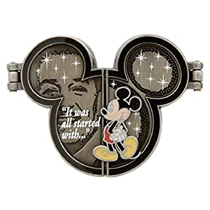 Disney Parks It Was All Started With a Little Mouse Hinged Mickey Ears Trading Pin