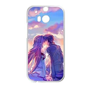 JIAJIA Beautiful romantic lover Cell Phone Case for HTC One M8
