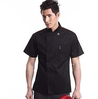 Cocina uniforme camisa de cocinero manga corta for Uniformes de cocina precios