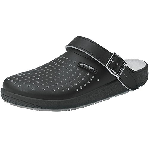 Abeba 9310-41 Rubber Chaussures sabot Taille 41 Noir