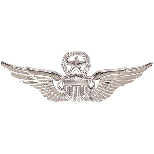 Medals of America Army Master Aviator Badge Mirror Regulation Size Full Size