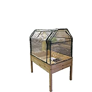 Eden Raised Garden Table with Optional Enclosure, large, Raised