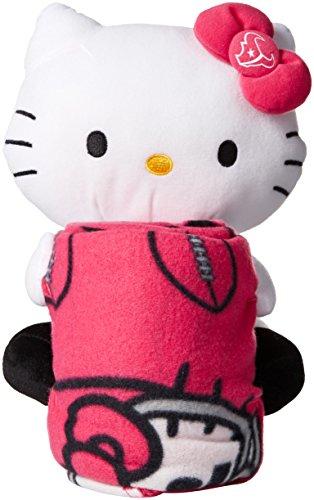The Northwest Company NFL Houston Texans Hello Kitty Fleece Throw with Hugger, 40 x 50-Inch, Pink ()