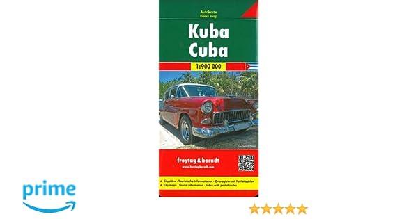 CUBA FB Road Map 1:900 000