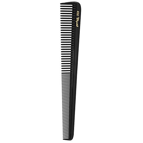 "Price comparison product image Barber Salon Beauty Hair Cleopatra 450 7"" All Purpose Barber Comb SB-C450-BLK"