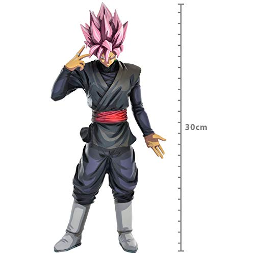 Action Figure Dragon Ball Super Goku Black Rose Grandista Manga Dimension, Bandai Banpresto, Multicor