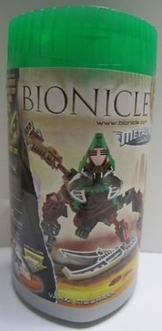 Bionicle Metru Nui 8614 Vahki Nuurakh Limited Edition Set (Includes Mask of Time and Special Disc of (Bionicle Special Edition)