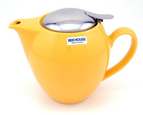 Round Yellow Teapot 22 Ounces ()