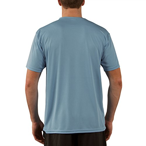 Vapor Apparel Men's Solar Performance UPF Short Sleeve T-Shirt XXX-Large Hydro