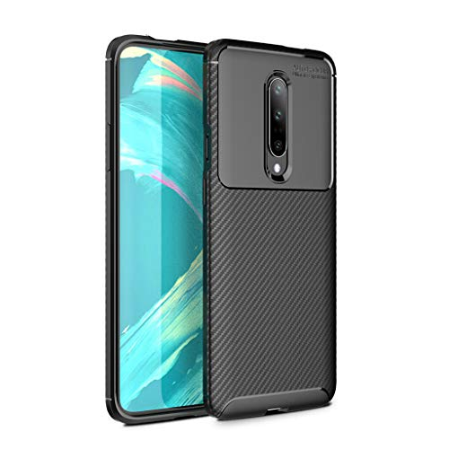 Oneplus 7 Pro Protection Armor,CGKUITER Case Soft TPU Silicone +PC Cover Case 6.7 inch