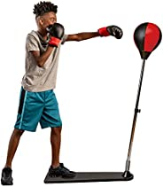 Protocol Punching Bag & Boxing Training Sets - for Adults & Kids - Boxing Bag, Heavy Bag, and Kickboxi