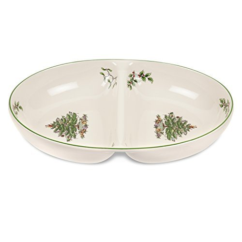 (Spode Christmas Tree Divided Dish by Spode)