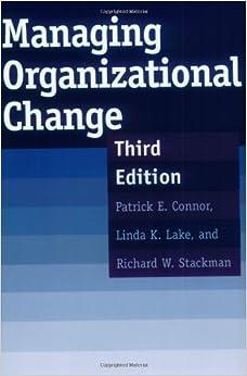 Book Managing Organizational Change