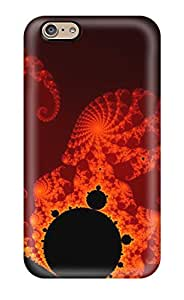 Tpu Phone Case With Fashionable Look For Iphone 6 - Fractal 9585126K59619771