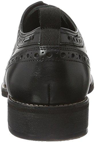 Hackney Classic Schwarz Herren Black Jeans Schnürhalbschuhe Brogue 999 Pepe qtRB6ECwxn