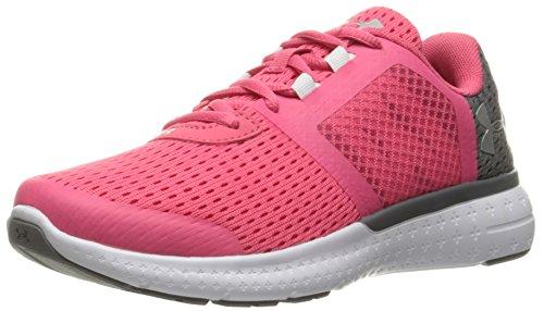 Gala Footwear - Under Armour Men's Grade School Micro G Fuel RN Sneaker, Gala (692)/White, 6