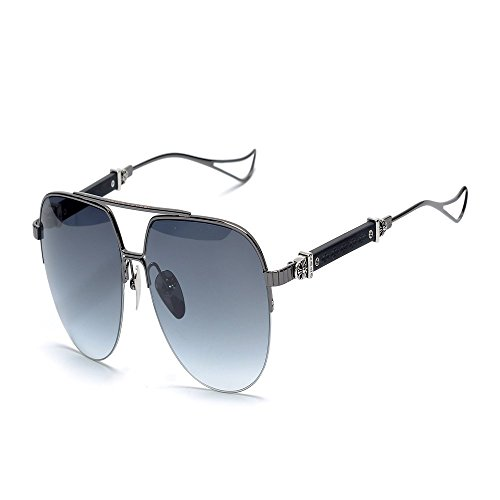 sol sapo 6 de gafas gafas Shop UV gris de sol anti metal Gafas sol de de plateado Gafas qYxpBd7x