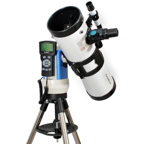 TwinStar White 4.5'' iOptron Computerized GPS Reflector Telescope