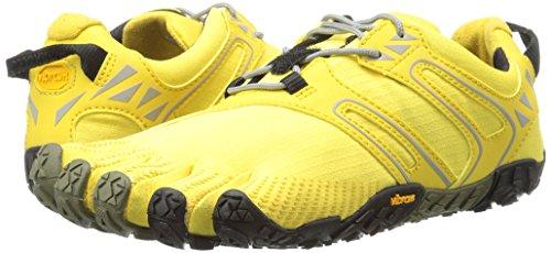 Vibram Women's V Trail Runner, Yellow/Black, 37 EU/6.5 M US by Vibram (Image #6)