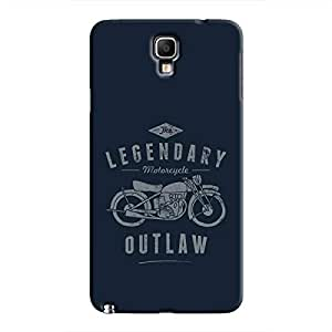 Cover It Up - Legendary Outlaw Galaxy Note 3 Neo Hard Case