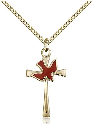 DiamondJewelryNY 14kt Gold Filled Cross Pendant