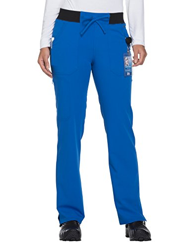 - Dickies Xtreme Stretch Women's Drawstring Straight Leg Scrub Pant Large Tall Royal