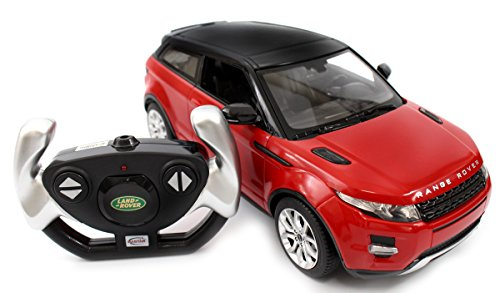 AMPERSAND SHOPS Range Rover Evoque Licensed Electric RC Car 1:14 RTR (Red)