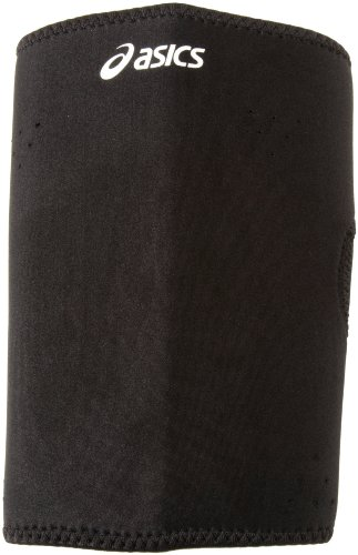 ASICS Unisex Shooting Sleeve, Black, Medium