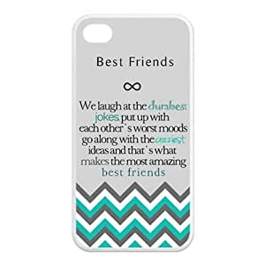 Design For You The Meaning For Best Friends IPhone 4/4s Rubber Cover Case