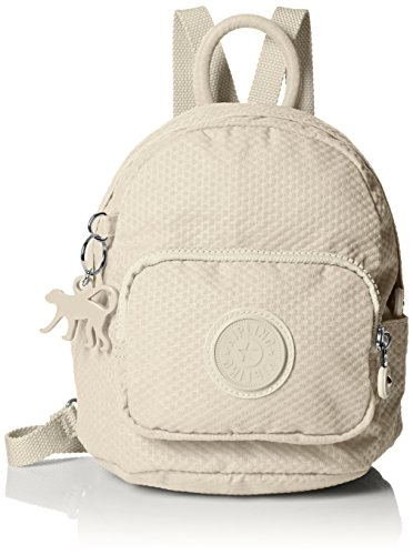Kipling Mini Backpack in Dots Cream
