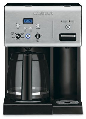 Cuisinart Programmable Coffeemaker Digital 12 Cup Stainless Steel Charcoal Water Filter 56 Oz. - Cuisinart Programmable Filter