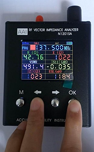 N1201SA UV RF Vector Impedance ANT SWR Antenna Analyzer Meter Tester 140MHz - 2.7GHz(English Version) by Yi Zhan Tong (Image #4)