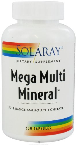 Mega minérale Multi - 200 - Capsule
