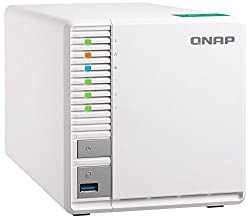 "Qnap Ts-328-us Qnap 3-bay Personal Cloud Nas, Ideal For Raid5 Storage. Arm Quad-core 1.4ghz, 2gb Ddr4 Ram, 2 X Gigabit Lan, 2.5""3.5"" Sata Hdd (Hot-swappable)"