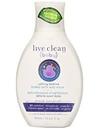 Live Clean Baby Calming Bedtime Bubble Bath & Wash, 10 Fluid Ounce BOBEBE Online Baby Store From New York to Miami and Los Angeles