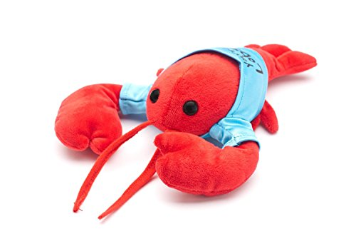 """""""You're My Lobster"""" Plush in cute Blue T-Shirt, inspired by Friends"""