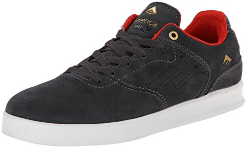 Emerica Men's The Reynolds Low Skateboard Shoe, Dark Grey, 8 M US - Reynolds Skateboard Shoe