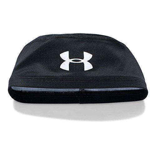 Under Armour Men's ArmourVent Skull Cap, Black /White, One Size