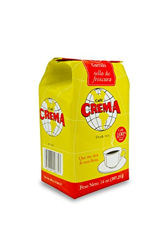 Café Crema Ground Coffee From Puerto Rico 14 Ounce