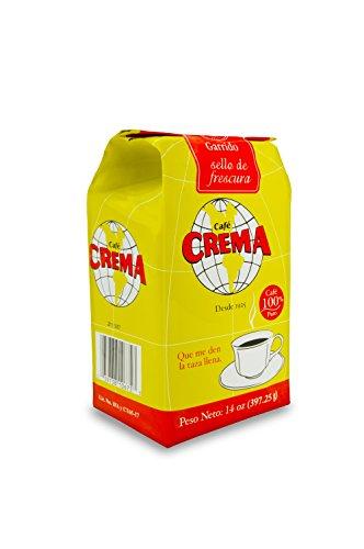 Crema Cafe (Café Crema Ground Coffee From Puerto Rico 14 Ounce)