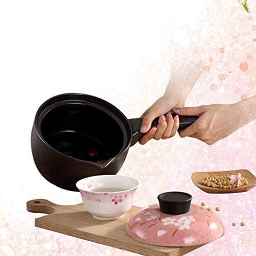 CJTMY Ramequins en céramique for la Cuisson, Mini cocotte avec Couvercle, Soucoupe